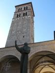 Statua di San Francesco a Rieti