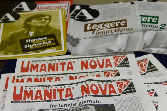 Umanità Nova e A rivista anarchica