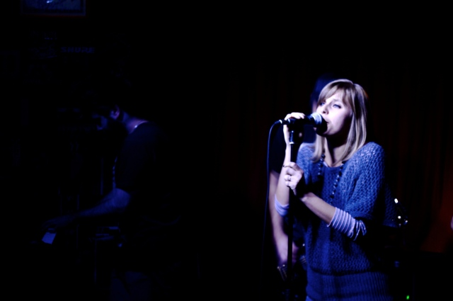 la cantante Joelle